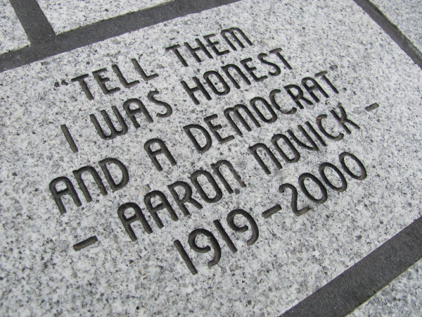 aaron-novick-paver-with-quote